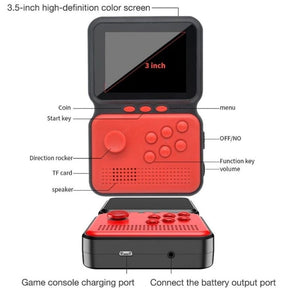 Homlly 900 Classic Retro handheld Game boy Console
