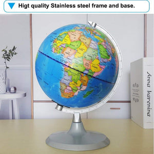 Homlly 2 in 1 educational World Globe