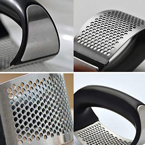 Homlly Garlic Ginger Press Rocker Stainless Steel Crusher (Buy 1 Free 1) - Homlly