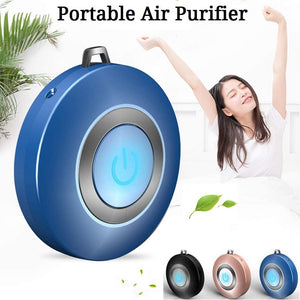 Homlly Portable Air Purifier Ionizer Wearable Necklace