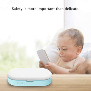 Homlly Portable UV Sterilizer Disinfect box