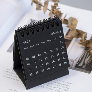 Homlly Gift 2020 Mini Desk Desktop Calendar