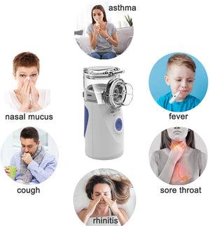 Homlly Portable Cool Mist Steam Inhaler Nebulizer
