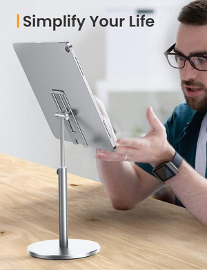 Homlly Tristii Aluminum Adjustable phone iPad Holder Stand