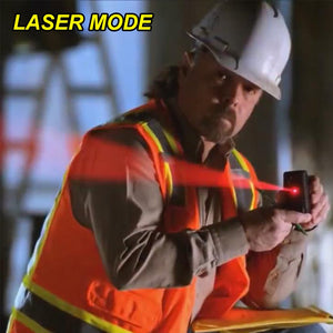 Homlly 3 in 1 LED Digital Display Laser Measure King Roller Tape - Homlly
