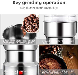 Homlly Multi function Spice Coffee Grain Grinder Machine