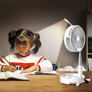 Homlly Magic Fan Humidifier Table Lamp Powerbank All in One