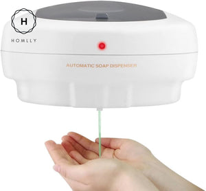 Homlly Wall-Mounted Automatic Touchless Alcohol Soap Dispenser  (500ml)