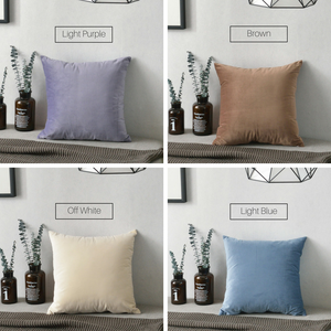 Homlly Basic Hue Cushion Covers