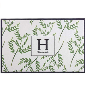 Homlly Grani Tropical Dining Table Placemat (Set of 4pcs)