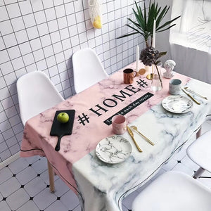 Homlly #HOME# Table Cover Cloth - Homlly