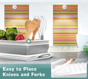 Homlly Collapsible Dish Drying Rack