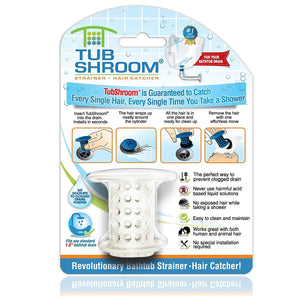 Homlly Tub Shroom Drain Protector Hair Catcher Strainer(Buy 1 Free 1 )