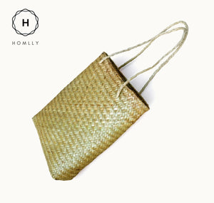 Homlly Hand Woven Grocery Tote Bag
