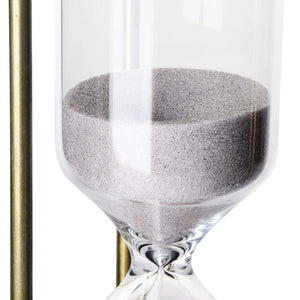 Homlly Alloy Hour Glass Timer (30 mins) Gold / Bronze Color - Homlly