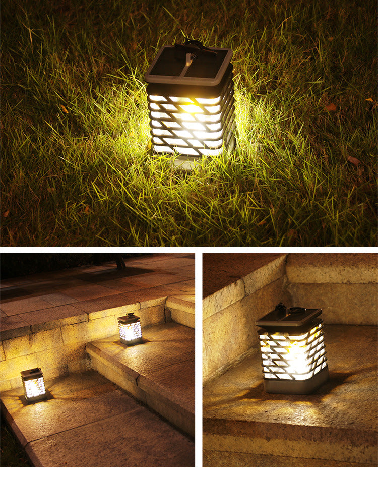 Gardi Lantern LED Dancing Flame Lights - Homlly