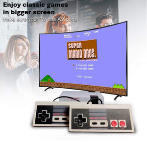 Homlly Classic Retro Built-in 620 TV game console