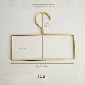Keii Gold Rose Gold Hanger Available in Rectangular / Round shape  (5 pcs Set each)