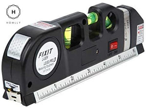 Homlly Multipurpose Laser Level Line Measuring Tape