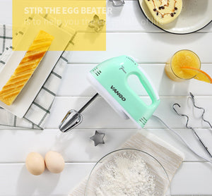 Homlly 7 Speed Electric Hand Egg Beater Mixer