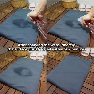Homlly Soft Diatomite Floor Bath Mat with Washable Cover (Design)