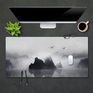 Homlly Printed Office Desk Gaming Mouse Mat