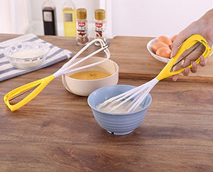 Homlly Single Handed Mechanical Whisk Egg Beater