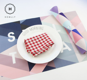 Homlly Zota Dining Table Placemat (Set of 4pcs)