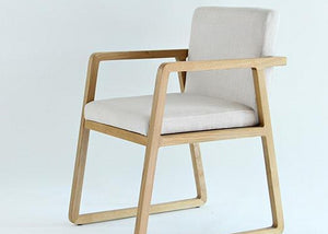 Austine Ash Wood Chair - Homlly