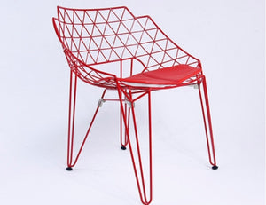 Geometric Outdoor Chair - Homlly