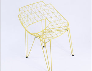 Geometric Outdoor Chair