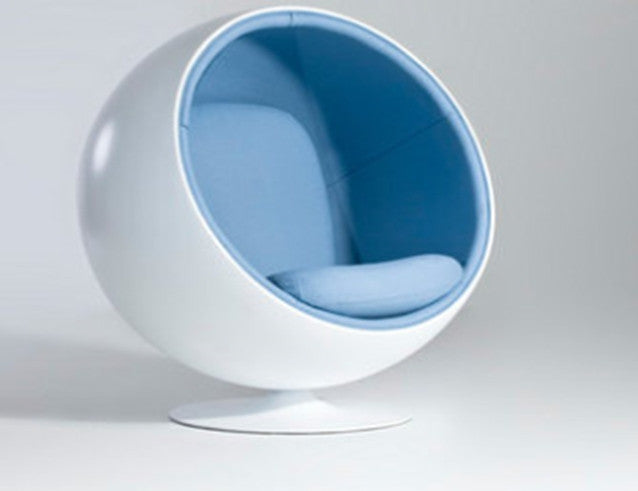 White Sphere Chair