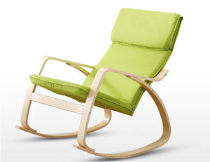 Green Arvika Rocking Chair - Homlly