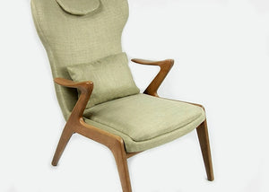 Christopher Ash Wood Chair - Homlly