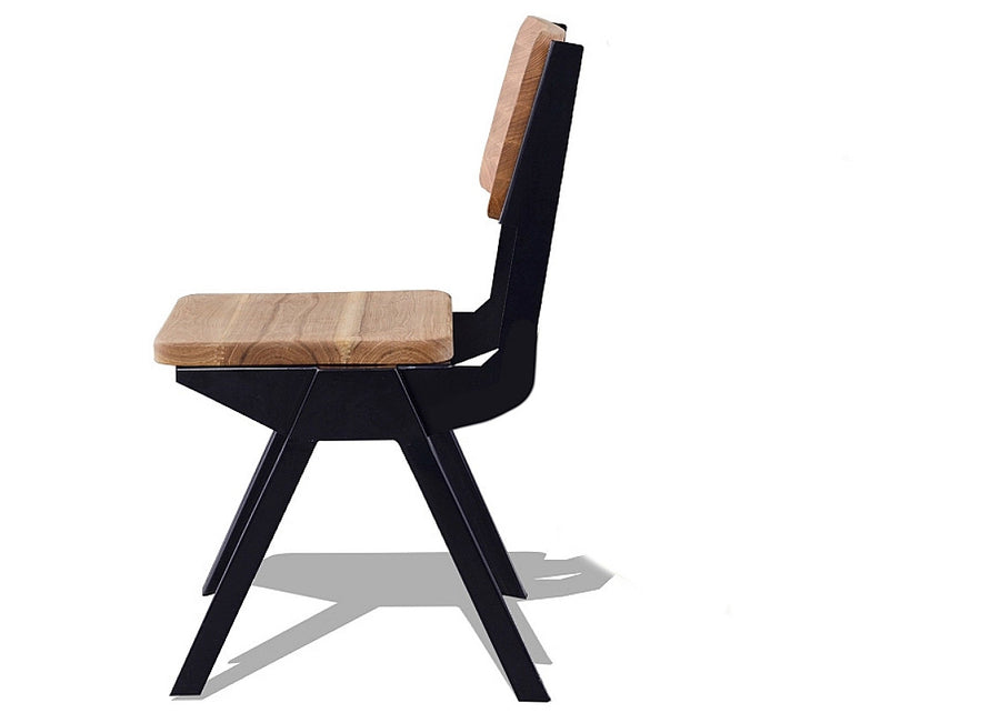 Enkel Ash Wood Chair - Homlly