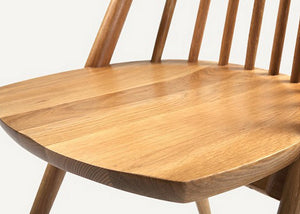 Brown Enkel Oak Chair