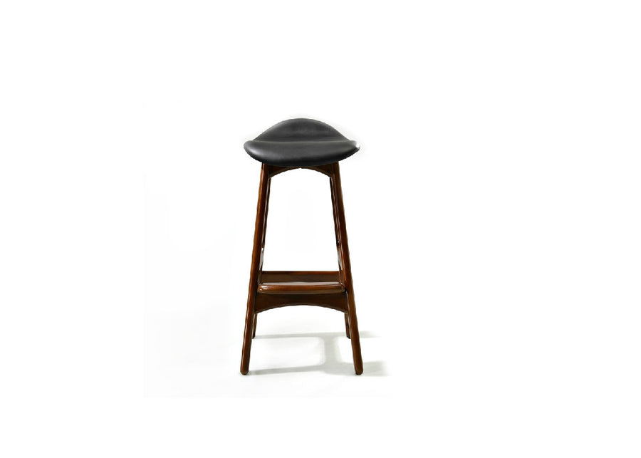 Erik Ash Wood Stool - Homlly