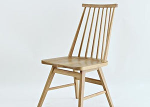 Erika Ash Wood Chair - Homlly