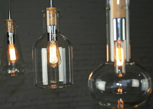 Franklin Flask Ceiling Lamp