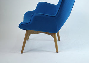 Grant Blue Lounge Chair Set