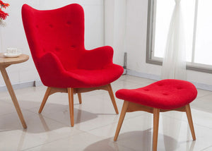 Grant Featherston Contour Lounge Chair Set - Homlly