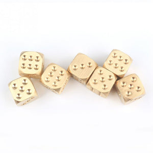 Keii Gold Dice (1pc)