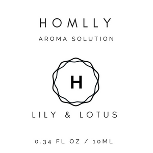 Aroma Therapy Fragrance Oil (Lily & Lotus) 10ml - Homlly