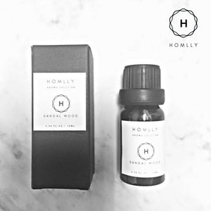 Aroma Therapy Fragrance Oil (Sandalwood) 10ml - Homlly