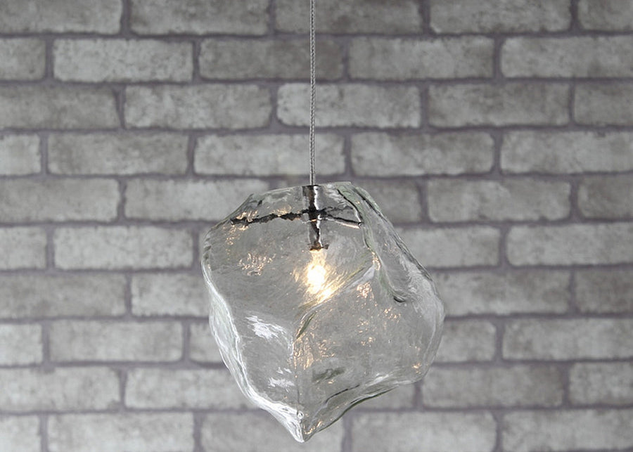 Ice Block Ceiling Lamp