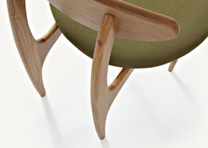 Damien Oak Wood Chair