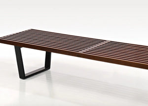 Nelson Ash Wood Bench