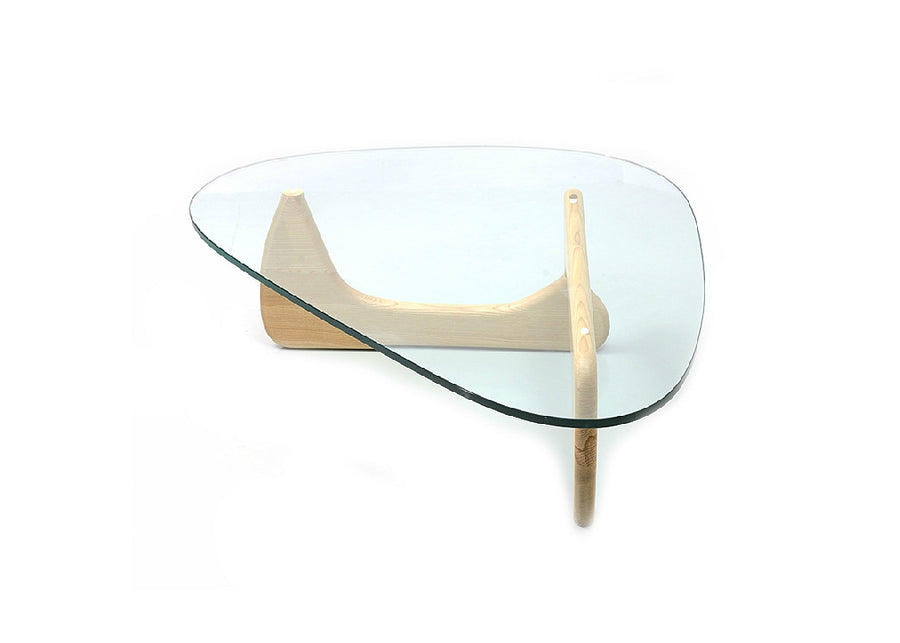 Noguchi Tempered Glass Tea Table