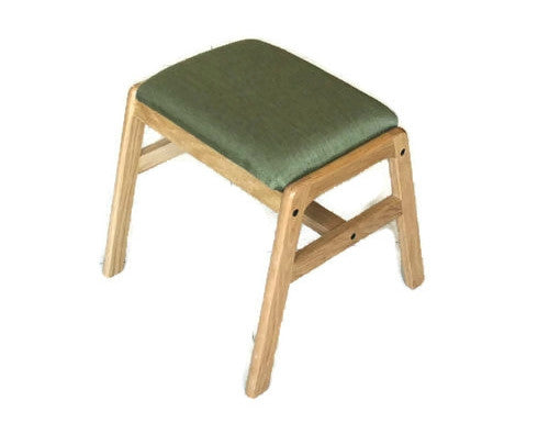 Enkel Oak Wood Stool