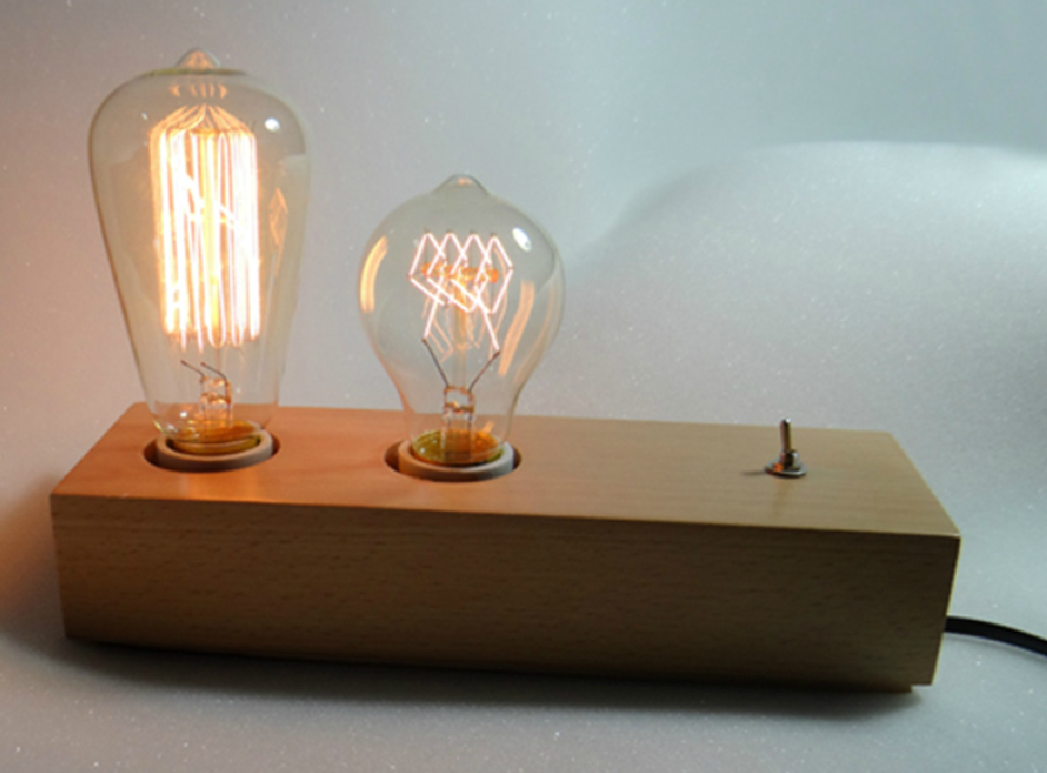 Father And Son Edison Desk Lamp ...